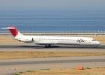 bluesky05さんが、中部国際空港で撮影した日本航空 MD-81 (DC-9-81)の航空フォト(写真)