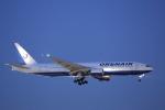 臨時特急7032Mさんが、福岡空港で撮影したオレンエア 777-2Q8/ERの航空フォト(写真)