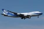 木人さんが、成田国際空港で撮影した日本貨物航空 747-481F/SCDの航空フォト(写真)