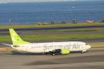 MA~RUさんが、羽田空港で撮影したソラシド エア 737-43Qの航空フォト(写真)