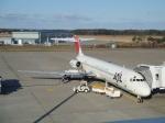けろんさんが、三沢飛行場で撮影した日本航空 MD-87 (DC-9-87)の航空フォト(写真)