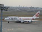 けろんさんが、羽田空港で撮影したJALウェイズ 747-346の航空フォト(写真)