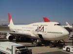 けろんさんが、羽田空港で撮影した日本アジア航空 747-346の航空フォト(写真)