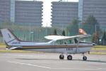 350JMさんが、調布飛行場で撮影したアイベックスアビエイション 172P Skyhawk IIの航空フォト(写真)