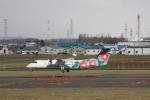 tupolevさんが、札幌飛行場で撮影したANAウイングス DHC-8-314Q Dash 8の航空フォト(写真)