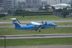 tupolevさんが、伊丹空港で撮影した天草エアライン DHC-8-103Q Dash 8の航空フォト(写真)