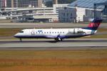 ぽんさんが、伊丹空港で撮影したアイベックスエアラインズ CL-600-2B19 Regional Jet CRJ-100LRの航空フォト(写真)