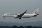 kengo.k@RJFTさんが、熊本空港で撮影した日本航空 767-346/ERの航空フォト(写真)