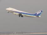 まっつーさんが、羽田空港で撮影した全日空 747-281Bの航空フォト(写真)