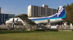SVMさんが、航空公園駅前で撮影したエアーニッポン YS-11A-500の航空フォト(写真)