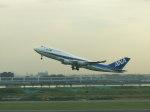 まっつーさんが、羽田空港で撮影した全日空 747-481の航空フォト(写真)