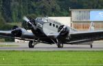Koenig117さんが、ミリテール・ド・ペイエルヌ飛行場で撮影したJUエア 352A-3 (Ju 52)の航空フォト(写真)