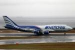 なごやんさんが、中部国際空港で撮影したナショナル・エア・カーゴ 747-428(BCF)の航空フォト(写真)