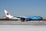 Fuseyaさんが、成田国際空港で撮影したマレーシア航空 777-2H6/ERの航空フォト(写真)