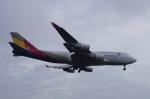 pringlesさんが、福岡空港で撮影したアシアナ航空 747-48EMの航空フォト(写真)