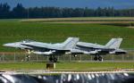 Tomo-Papaさんが、ミリテール・ド・ペイエルヌ飛行場で撮影したカナダ軍 F/A-18 Hornetの航空フォト(写真)