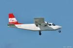 やまちゃんKさんが、那覇空港で撮影した第一航空 BN-2B-20 Islanderの航空フォト(写真)