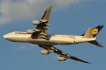 リーペアさんが、羽田空港で撮影したルフトハンザドイツ航空 747-830の航空フォト(写真)