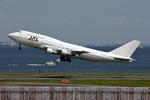 ヨルダンさんが、羽田空港で撮影した日本航空 747-346の航空フォト(写真)