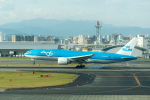 いっち〜@RJFMさんが、福岡空港で撮影したKLMオランダ航空 777-206/ERの航空フォト(写真)