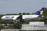 A-Chanさんが、福岡空港で撮影したスカイマーク 767-38E/ERの航空フォト(写真)