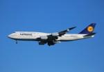 ケロさんが、羽田空港で撮影したルフトハンザドイツ航空 747-830の航空フォト(写真)