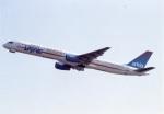 amagoさんが、関西国際空港で撮影したアルキア・イスラエル・エアラインズ 757-3E7の航空フォト(写真)