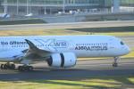 Espace77さんが、羽田空港で撮影したエアバス A350-941XWBの航空フォト(写真)
