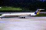 subaristさんが、青森空港で撮影した日本エアシステム MD-81 (DC-9-81)の航空フォト(写真)