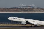 くるくもるさんが、羽田空港で撮影したルフトハンザドイツ航空 A340-642の航空フォト(写真)