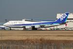 VQ-BELさんが、成田国際空港で撮影した全日空 747-481の航空フォト(写真)