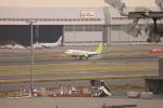 たろさんが、羽田空港で撮影したソラシド エア 737-81Dの航空フォト(写真)