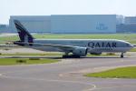 Tomo-Papaさんが、アムステルダム・スキポール国際空港で撮影したカタール航空カーゴ 777-FDZの航空フォト(写真)