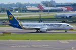 Tomo-Papaさんが、アムステルダム・スキポール国際空港で撮影したウクライナ国際航空 737-84Rの航空フォト(写真)