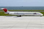 エアポートひたちさんが、北九州空港で撮影したJALエクスプレス MD-81 (DC-9-81)の航空フォト(写真)