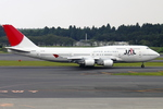 エアポートひたちさんが、成田国際空港で撮影した日本航空 747-446の航空フォト(写真)