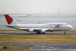 エアポートひたちさんが、羽田空港で撮影した日本航空 747-446Dの航空フォト(写真)