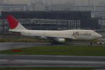 エアポートひたちさんが、羽田空港で撮影した日本航空 747-446(BCF)の航空フォト(写真)