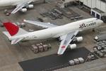 エアポートひたちさんが、成田国際空港で撮影した日本航空 747-446(BCF)の航空フォト(写真)