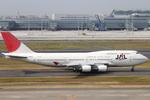 エアポートひたちさんが、羽田空港で撮影した日本航空 747-446の航空フォト(写真)