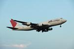 BAIYUN BASEさんが、成田国際空港で撮影した日本航空 747-446(BCF)の航空フォト(写真)