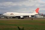 bushitsukeさんが、函館空港で撮影した日本航空 747-446の航空フォト(写真)