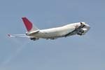 aMigOさんが、成田国際空港で撮影した日本航空 747-446(BCF)の航空フォト(写真)