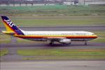 tuckerさんが、羽田空港で撮影した日本エアシステム A300B4-2C/SCDの航空フォト(写真)