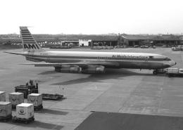 チャーリーマイクさんが、福岡空港で撮影したエアマニラ 707-321Bの航空フォト(写真)