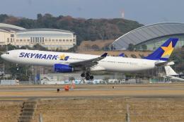 スターアライアンスKMJ H・Rさんが、福岡空港で撮影したスカイマーク A330-343Xの航空フォト(写真)