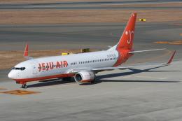 NIKEさんが、中部国際空港で撮影したチェジュ航空 737-8Q8の航空フォト(写真)