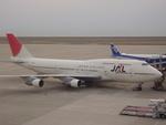 タイ国際航空さんが、中部国際空港で撮影した日本航空 747-346の航空フォト(写真)