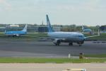 Koenig117さんが、アムステルダム・スキポール国際空港で撮影したKLMオランダ航空 737-8K2の航空フォト(写真)