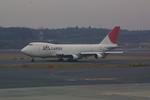 meijeanさんが、成田国際空港で撮影した日本航空 747-221F/SCDの航空フォト(写真)